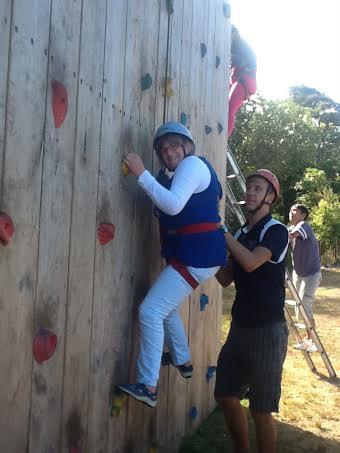 Climbing Wall, Taupo 2013
