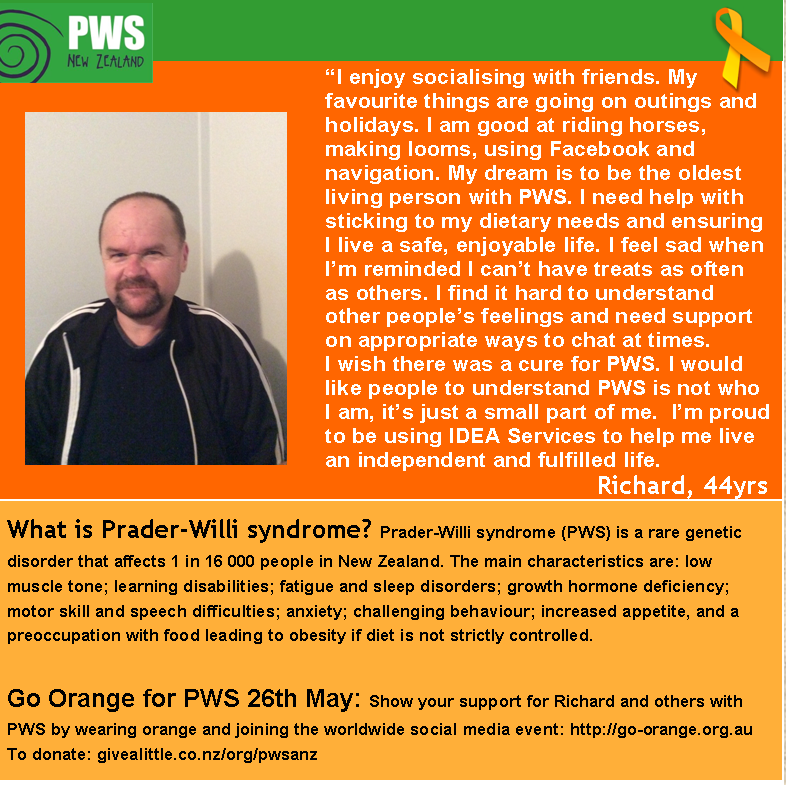 Awareness Month Feature Profile – RICHARD