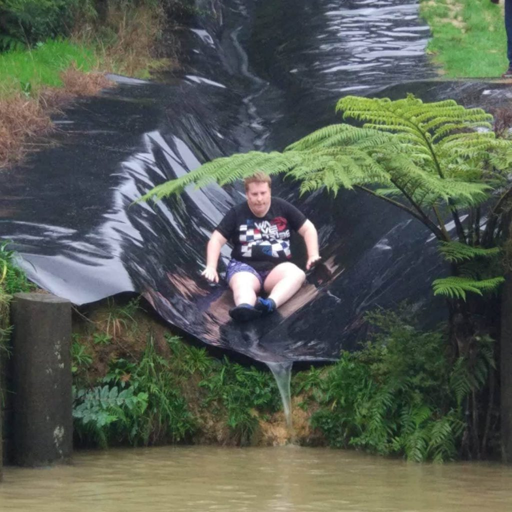 Mudslide! Go Glen! Camp Adair 2018