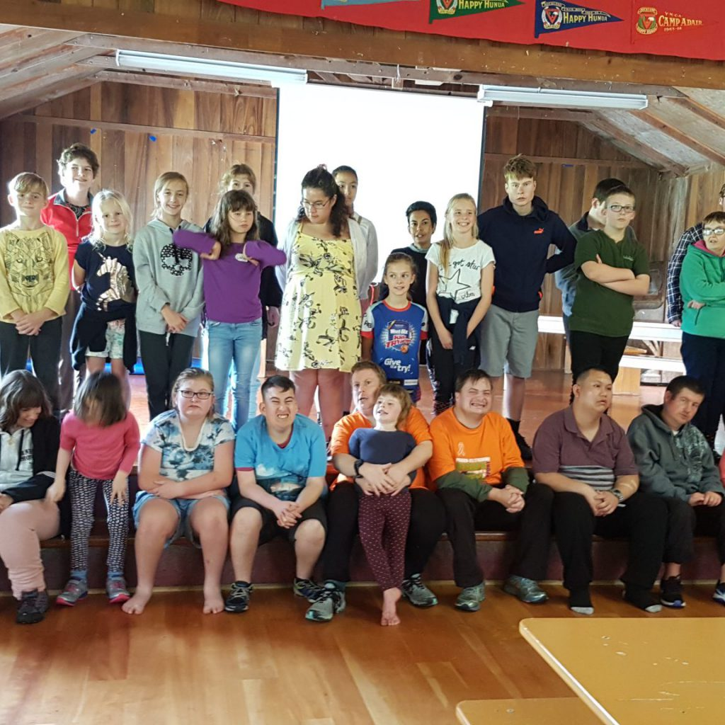 Some Of The Camp Group, Camp Adair 2018