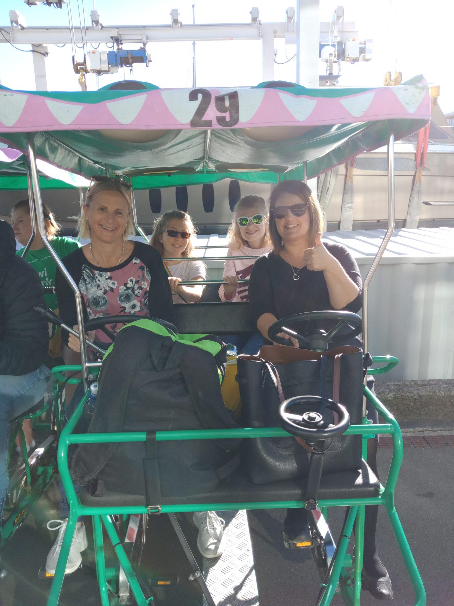Fun On The Croc Bikes In Wellington – Teens 2019