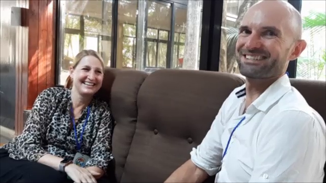 Julia And Dane Interview Dr Jennifer Miller At IPWSO Conference