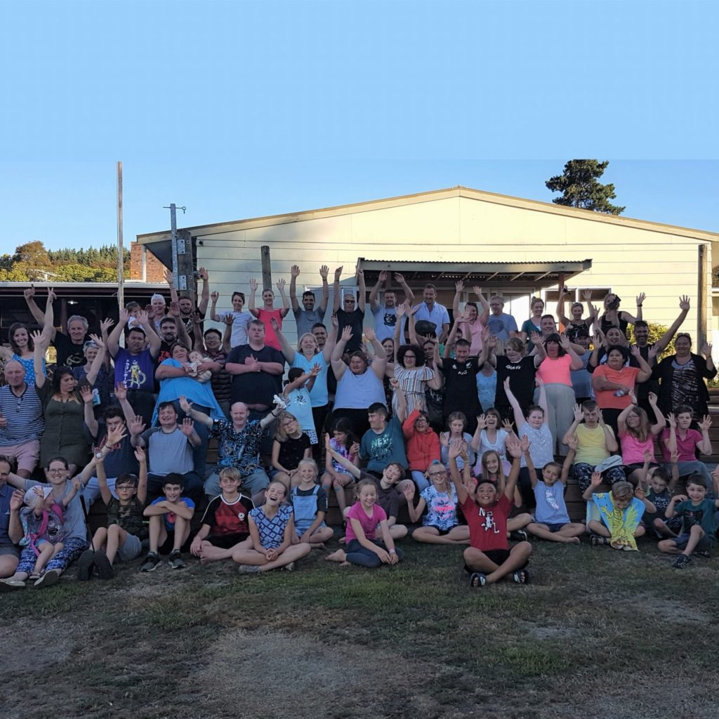 Some Of Our Camp Group, Taupo 2020