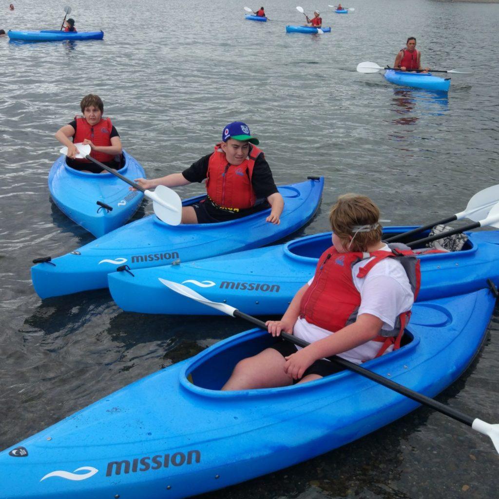Kayaks, Lake Taupo, 2020
