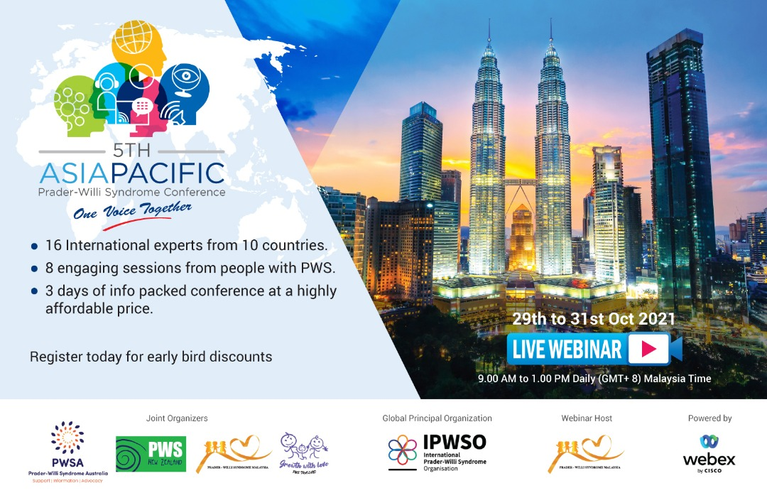 5th Asia Pacific PWS Conference / Live Webinar 2021